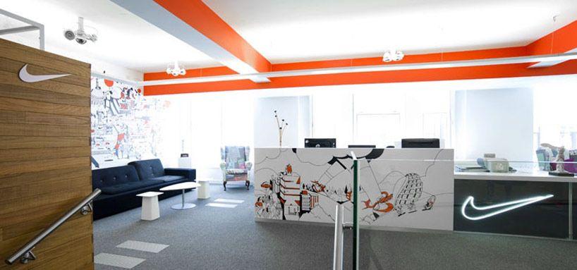nike uk headquarters re design by rosie lee eg logo sign