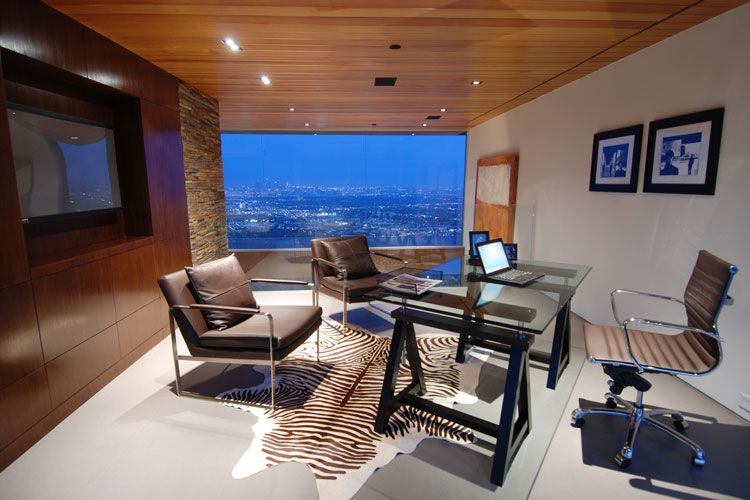modern luxury office design ideas - Luxury Home Office Design