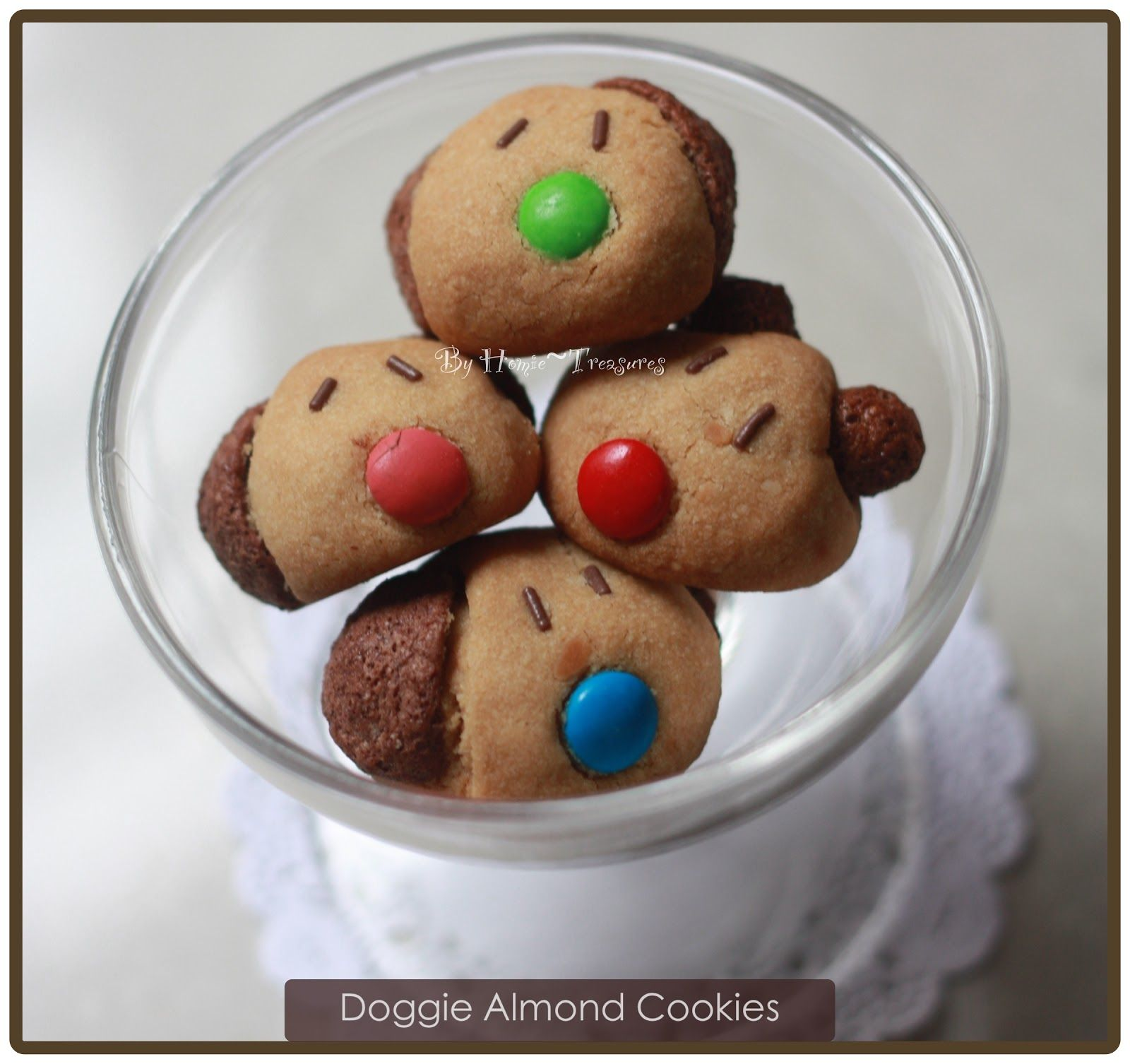 Woo Woo Doggie Almond Cookies Almond Cookies Chinese New Year