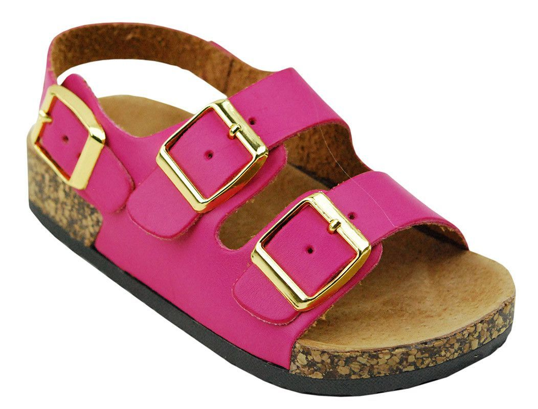 Little Girls Unisex Boys JR Infant Baby ARIZONA Open Toe Buckle Strap Sandals