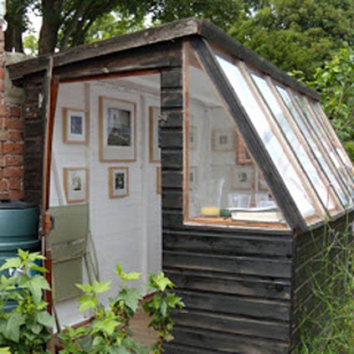 31 id es innovantes pour une maison compl tement m tamorphos e maison cabane jardin maison - Baraque de jardin ...