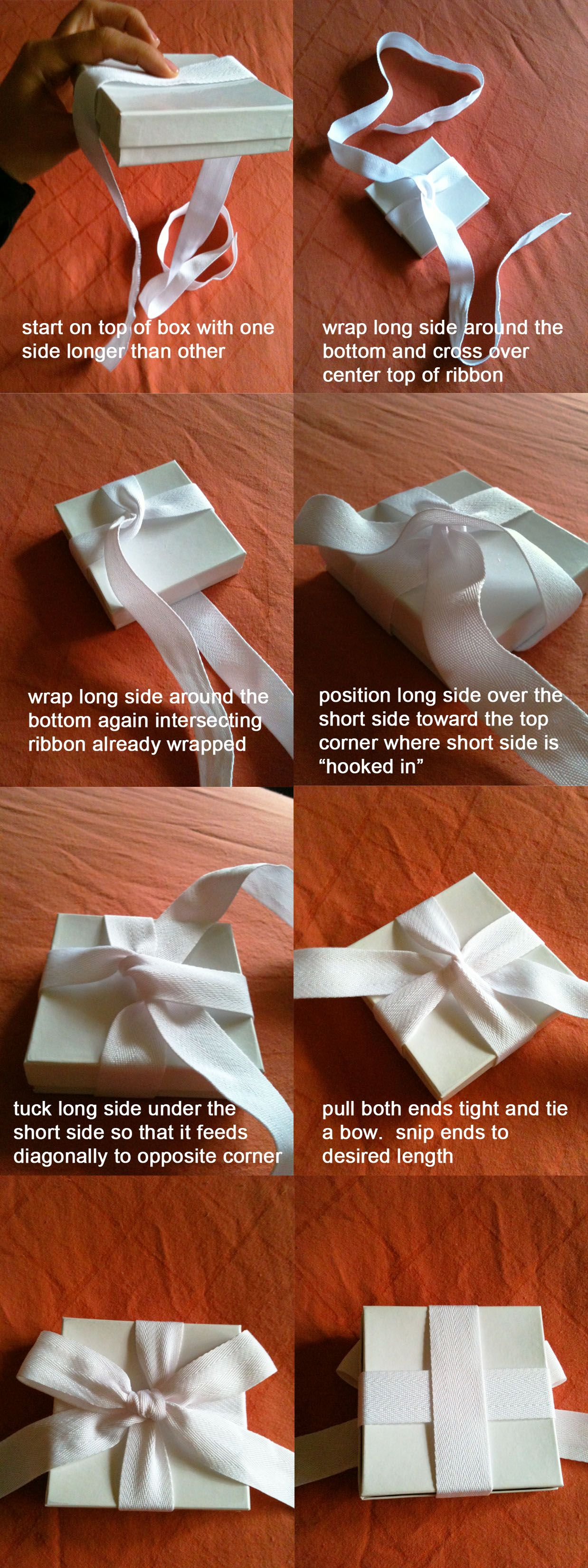 People Always Ask Me How I Tie My Perfect Gift Bows So That The Gift Box Sits More Or Less Plumb To A Flat Surface Well Gift Bows Gift Wrapping