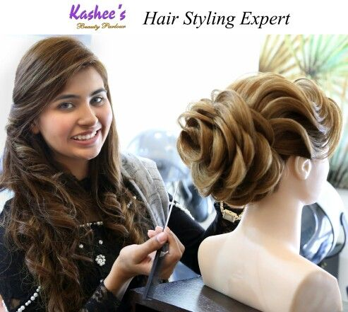 Hair Styling Prepossessing Perfection In Hairstylinganum Aslam At Kashee's  Kashee's