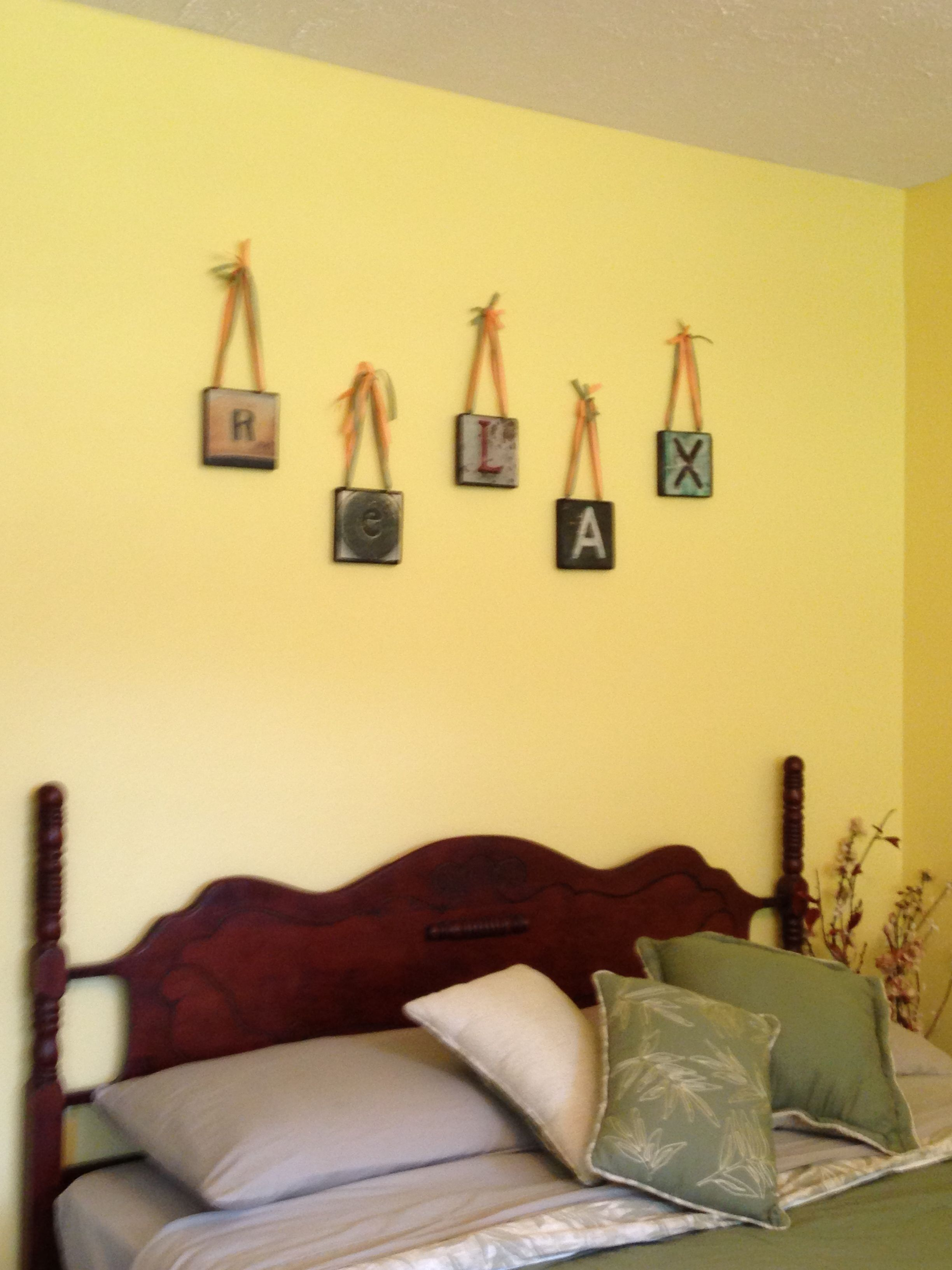 Colorful Guest Room Wall Art Component - Art & Wall Decor ...