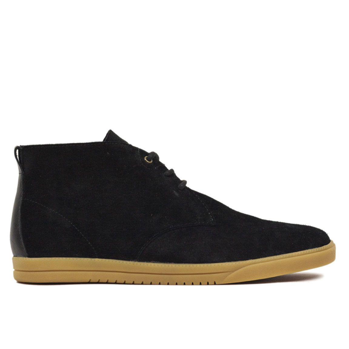 Clae Strayhorn Unlined - Black Suede Gum – Commonn