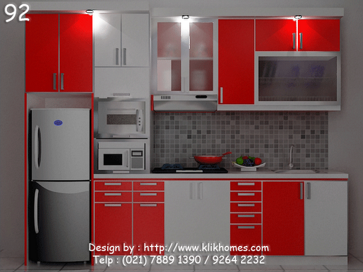 Kitchen set 92 gif kitchen set minimalis gambar desain for Kitchen minimalis