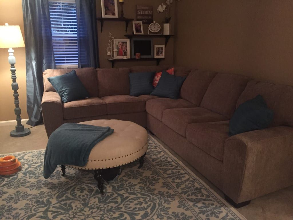 Richmond Tan Living Room Sectional Big Lots In 2020 Tan Living Room Living Room Sectional Brown Living Room #richmond #tan #living #room #sectional