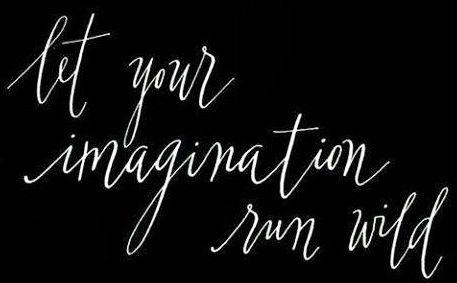 Imagination quote via www.Facebook.com/WildWickedWomen