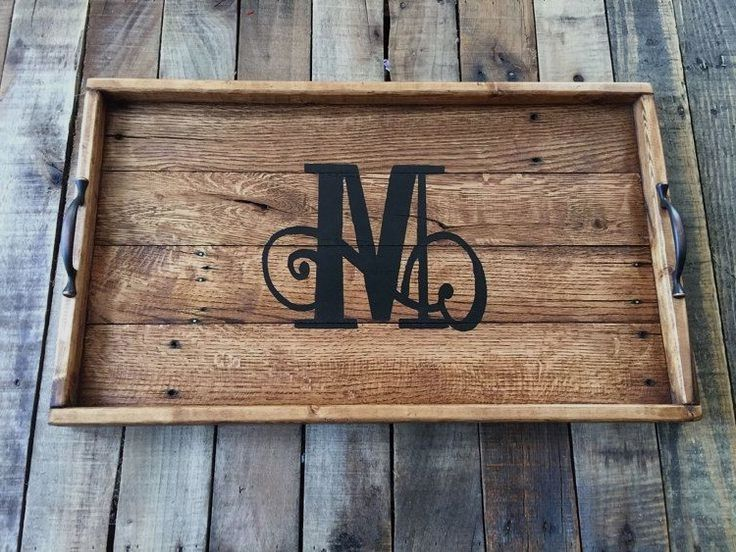 Woodworking Projects With Plans in 2020 Serving tray