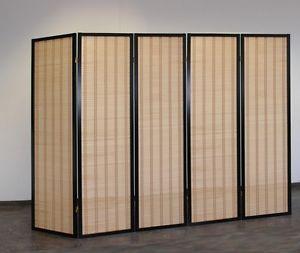 paravent japonais nahashi black 5 home studio. Black Bedroom Furniture Sets. Home Design Ideas