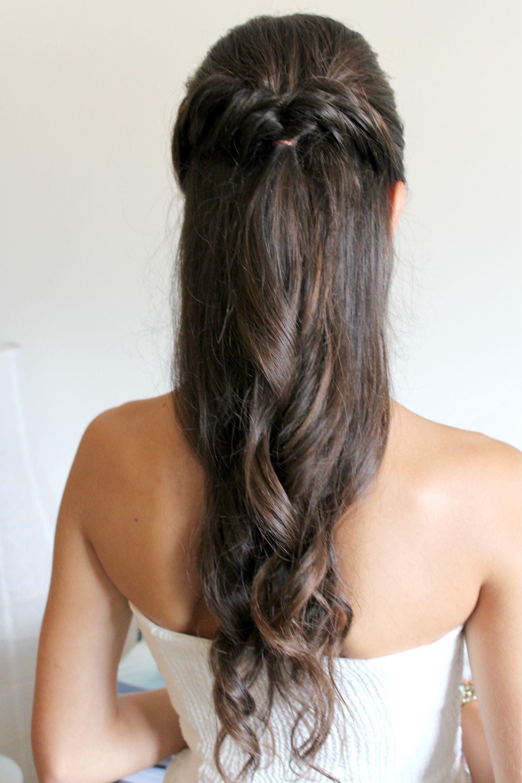Bonito y sencillo peinados para bautizo Colección de cortes de pelo estilo - Lista para el bautizo | Peinados, Bautizo