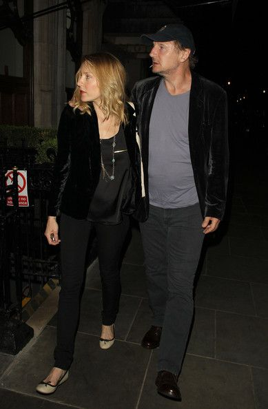 Liam Neeson and New Girlfriend Freya St  Johnston Out in