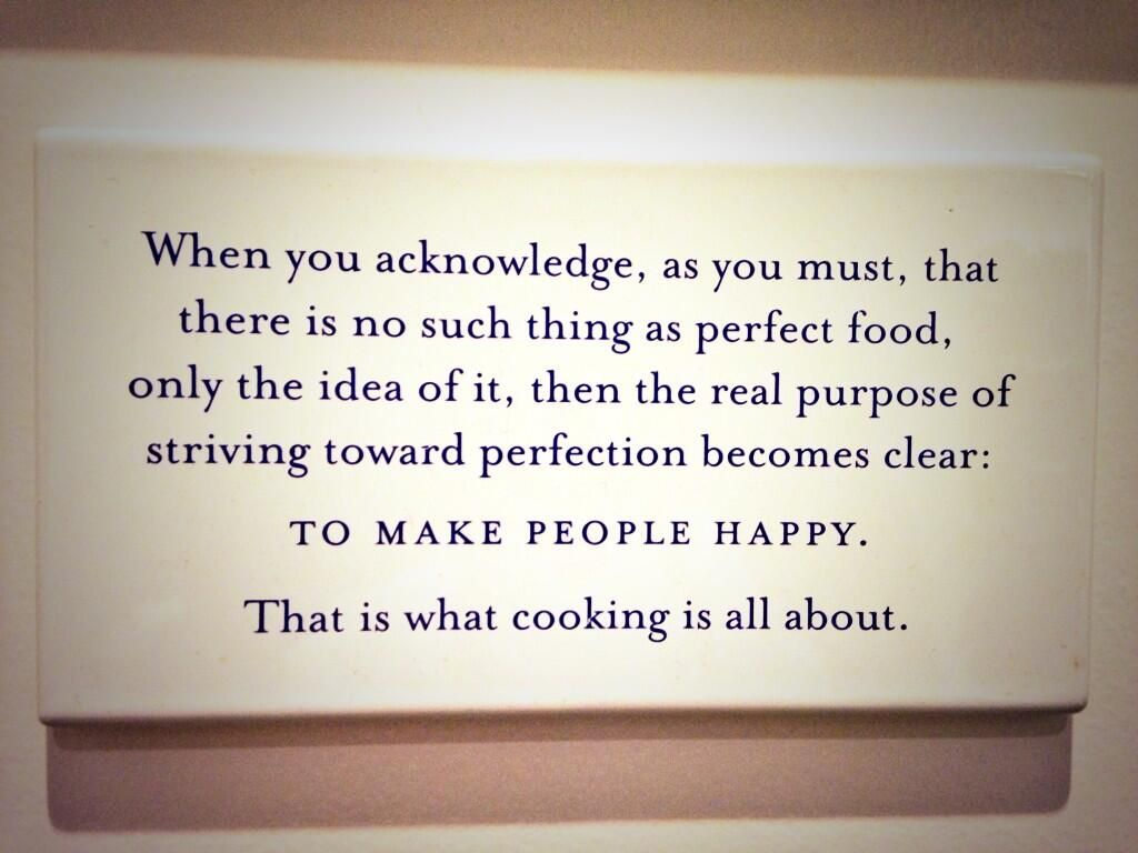 Ad Hoc + Addendum on | Favorite Quotes and Inspiration | Cooking