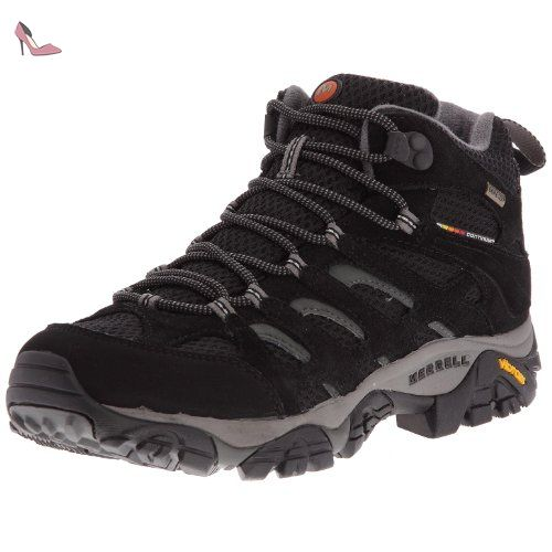 Merrell Telluride Mid Waterproof Hommes Chaussures de randonnée-Grey-40 RmbYI5DE1