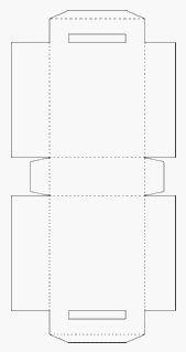 Sacola De Papel Para Imprimir Recortar Colar E Montar Molde