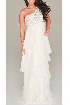 Aidan Mattox Sequined Tiered Gown Designer Dress Rental Dresses Gowns