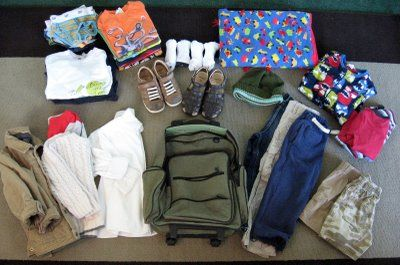 Packing for trips with kids :S yuck.