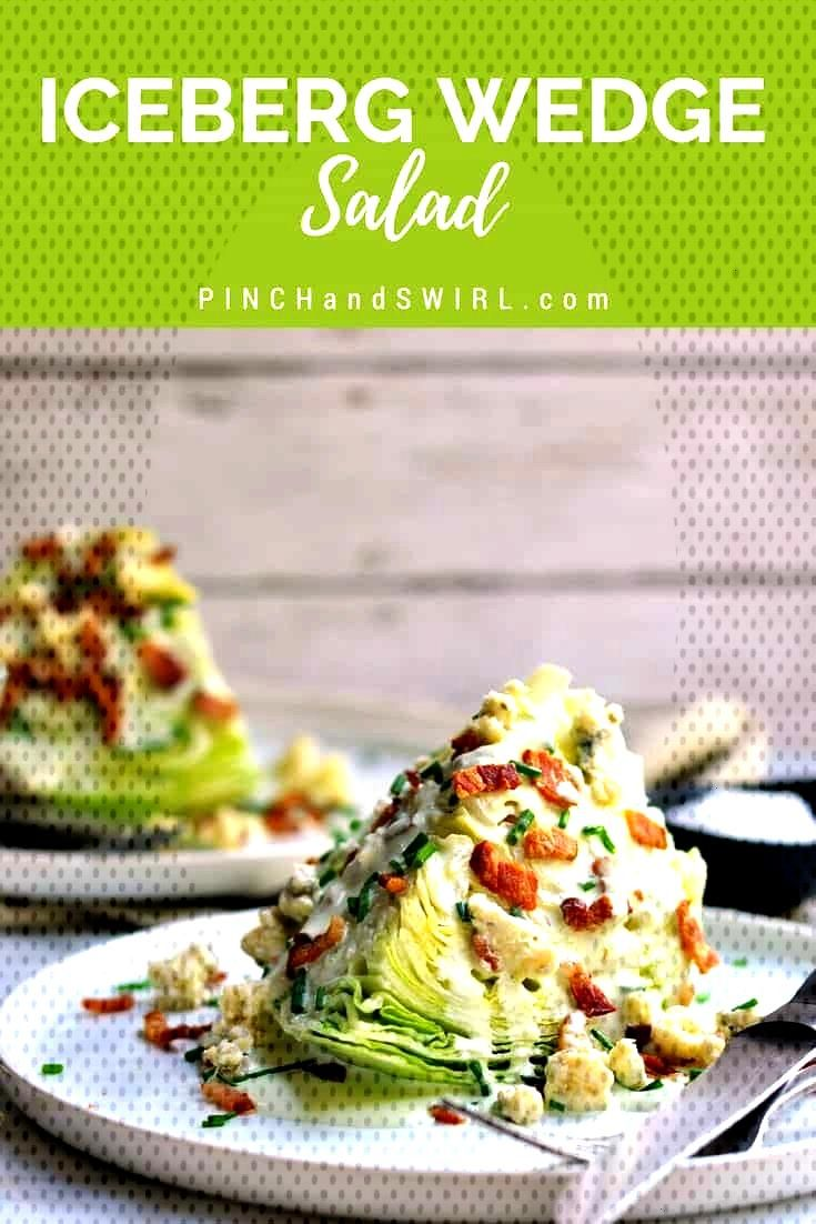 Classic Wedge Salad The Iceberg Wedge Salad is a classic American steakhouse salad recipe that is a