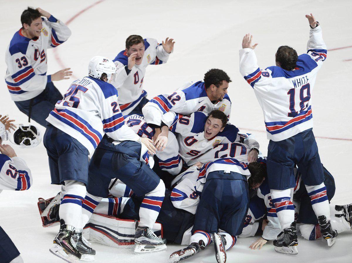 2017 One photo from every day World junior hockey
