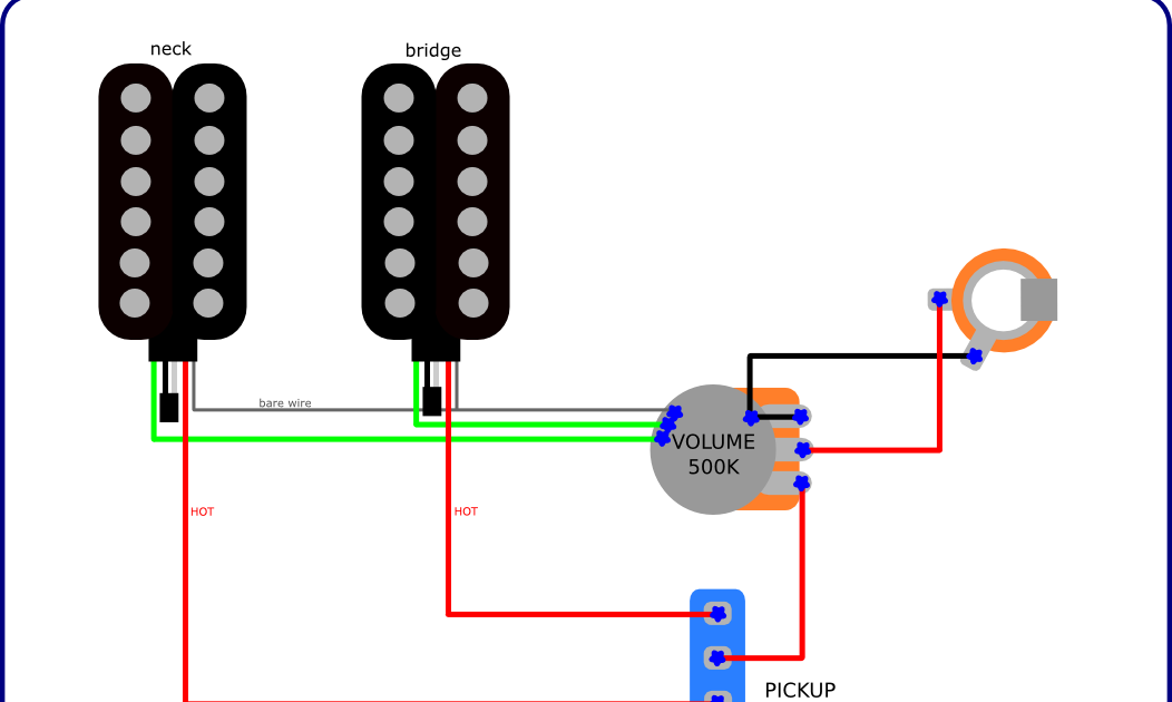 Simple Wiring in the Music Man Axis Style | Guitar DIY - Wiring ...