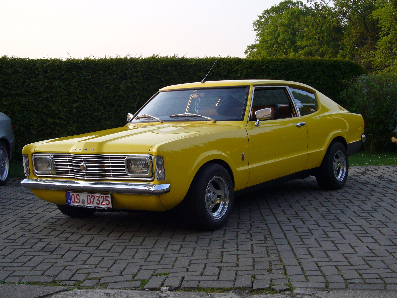 Ford Knudsen Taunus Oldtimer Autos Youngtimer Oldtimer