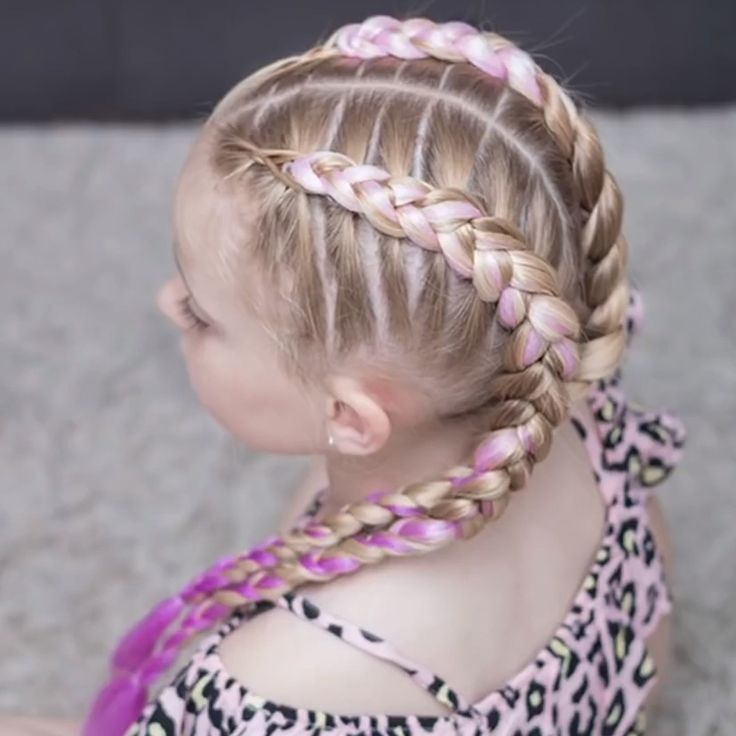 Easy Braids For Girls - Toddlers Diy - Hair Beauty