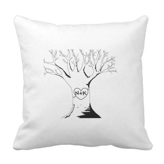 """Sweetheart Tree"" Pillow"