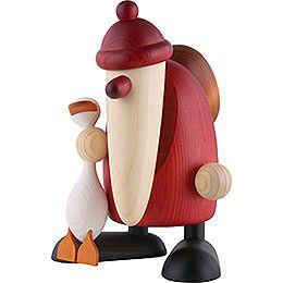 weihnachtsmann geschenke tragend 19 cm wood turning. Black Bedroom Furniture Sets. Home Design Ideas
