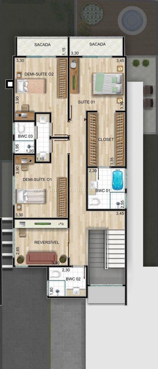 Pin de Gladis Obregon en Home Pinterest Planos, Planos de casas