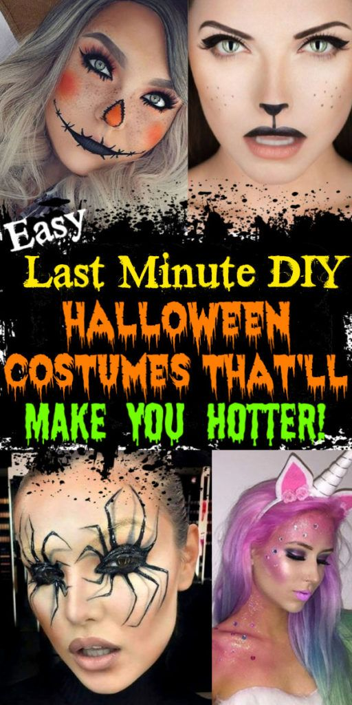 Easy DIY Last Minute Halloween Costumes That'll Make You