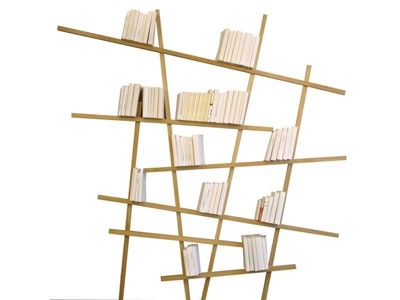Asymmetrical Bookshelves \