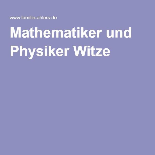 Die besten 25 physiker witze ideen auf pinterest physik - Pinterest witze ...