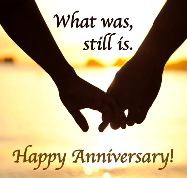 Writing wedding anniversary wishes happy