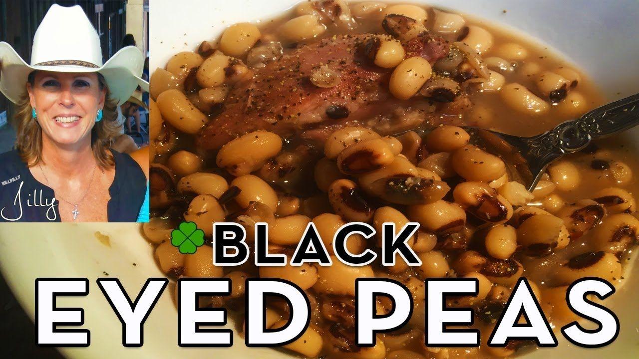 Lucky New Year's Black Eyed Peas Recipe Hoppin' John