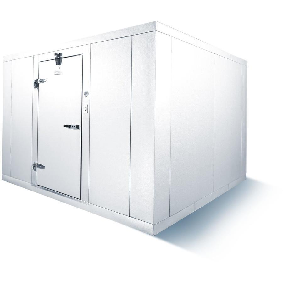 Commercial Kitchen Walk In Box Cooler 8 X 10 With Floor Indoor Refrigeration Commercial Kitchen Floor Boxes Kitchen Fittings
