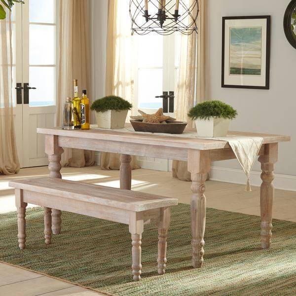 "Valerie 63"" Solid Wood Dining Table  Solid Wood Dining Table Cool Wooden Bench For Dining Room Table Review"