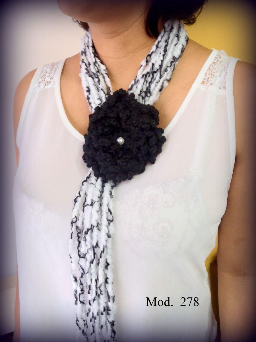 Collares Tejidos - Bs. 480,00 en MercadoLibre | Easy Crochet ...