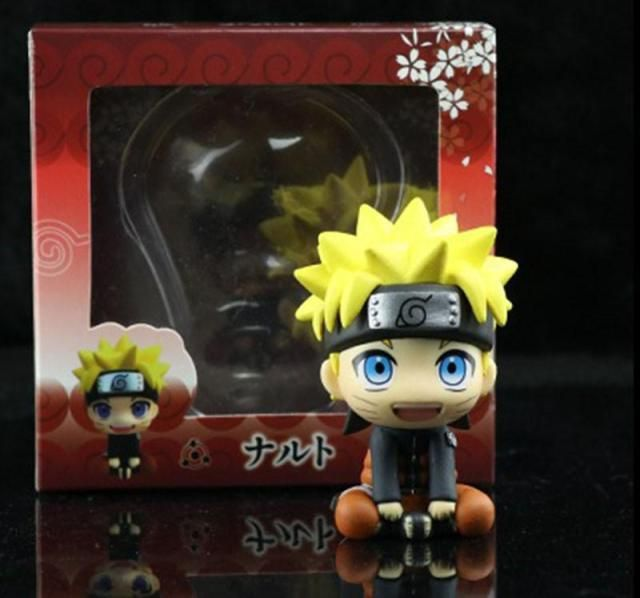 Photo of Anime 8cm Action Figures Toys – Naruto with box
