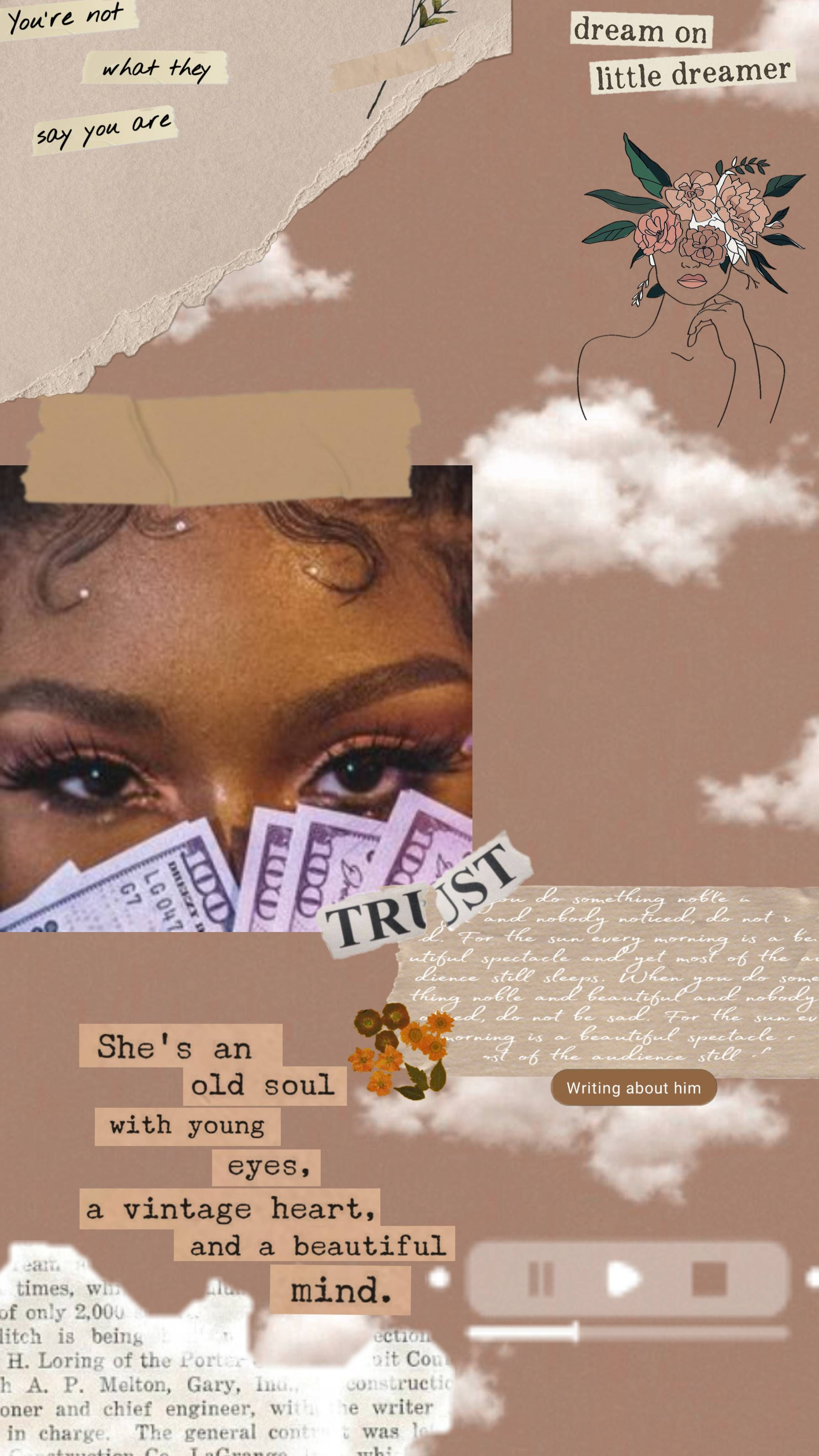 Temi Oladeji Black Aesthetic Wallpaper Iphone Wallpaper Tumblr Aesthetic Bad Girl Wallpaper