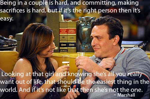 Lily And Marshall With Images How I Met Your Mother Marshall