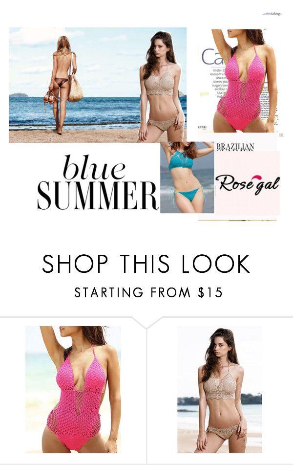 """#bikini #summer #beauty #rosegal"" by inelasalanovic54 ❤ liked on Polyvore"