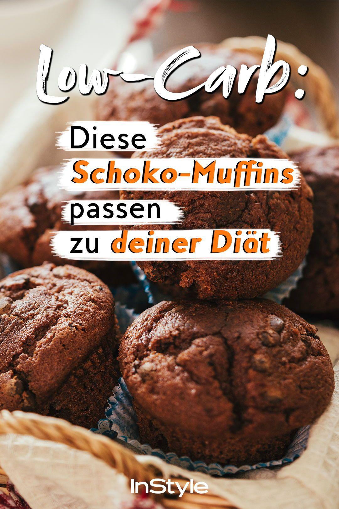 Dieses Rezept für leckere Schoko Muffins ohne Zucker solltest du unbedingt in deine Ernährung einbauen
