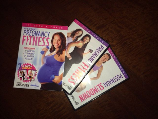 pregnancy fitness. pregnancy workout DVD review. Pregnancy fitness with Lindsay Brin. Really like this one.