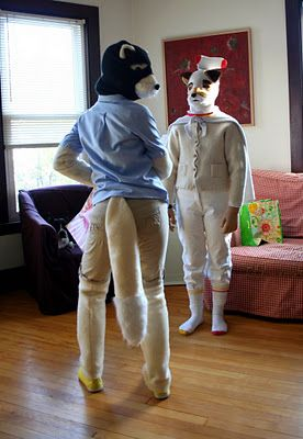 Fantastic Mr Fox Halloween Costumes!