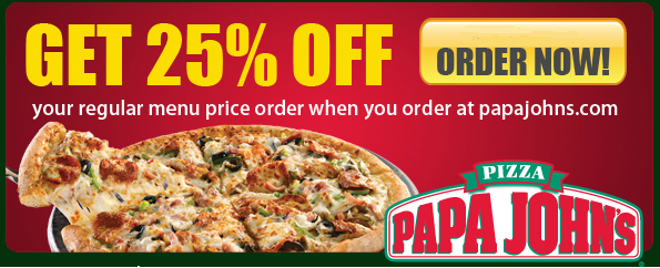 Papa John S Coupons Promo Codes Nevertheless What You Order With A Papa John S Coupon Something Is Guaranteed Freshness Papa Johns Papa Grocery Coupons