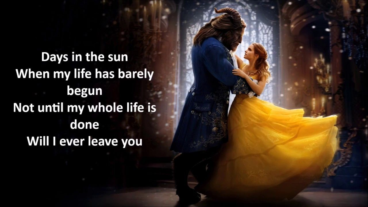 Days In The Sun Lyrics Beauty And The Beast 2017 Beauty And