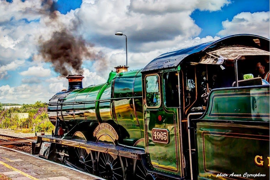 """Steam Train, Stratford Upon Avon, UK ~ William Shakespeare's old """"stomping grounds""""!  ; )"""