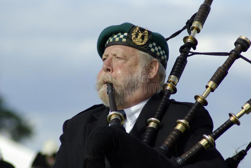 Bagpipe player in Edinburgh. Old bagpipe player at the Gathering 2009, in Edinbu , #Ad, #Edinburgh, #player, #Bagpipe, #bagpipe, #scotland #ad