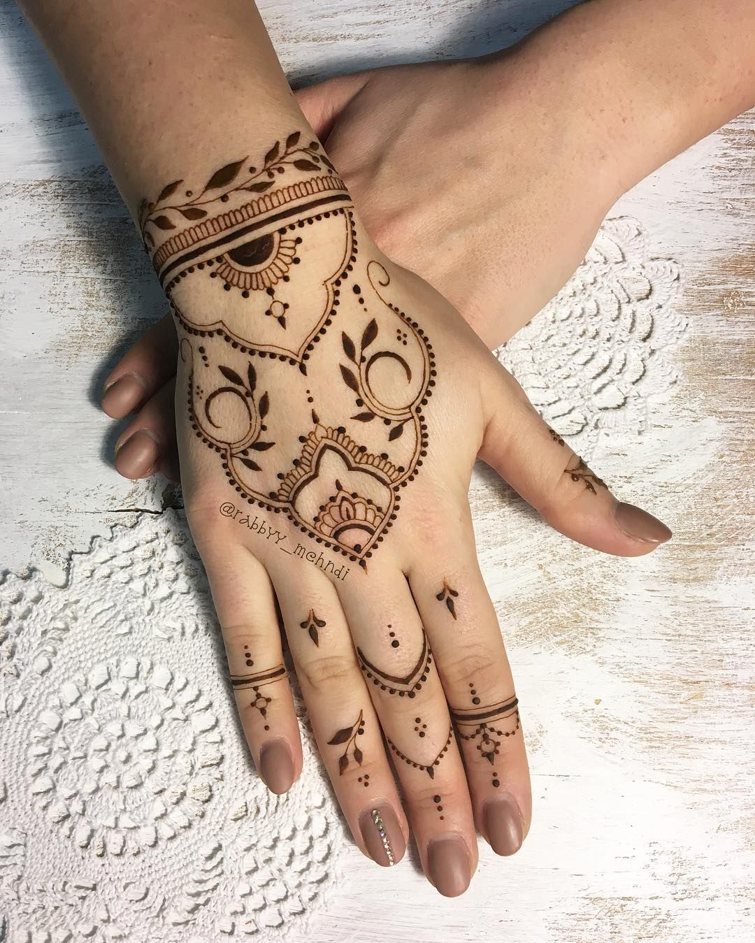 Henna tattoo on penis