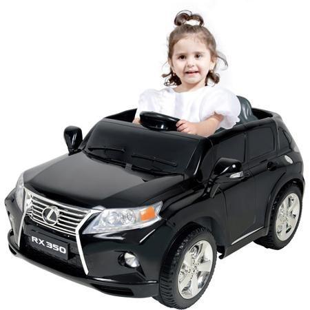Kalee Lexus Rx350 12 Volt Battery Powered Ride On Black Lexus Lexus Rx 350 Toy Car
